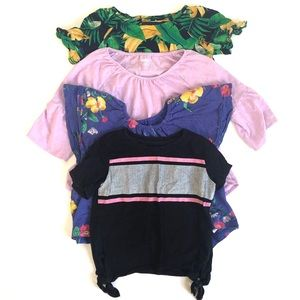 Bundle of 4 Old Navy (size XS) girl's tops